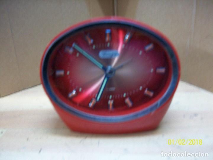 RELOJ GINZA-JAPONES-AÑOS 1970 (Relojes - Relojes Despertadores)