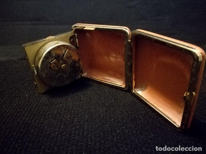 Despertadores antiguos: Antiguo reloj alarma despertador de viaje a cuerda. Ingersoll - Foto 3 - 216643078