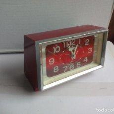 Despertadores antiguos: RELOJ DESPERTADOR MADE IN JAPAN GINZA RETRO VINTAGE . Lote 109220239