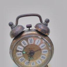 Despertadores antiguos: RELOJ DESPERTADOR DE CAMPANA BLESSING. Lote 109473555