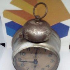 Despertadores antiguos: ANTIGUO RELOJ DESPERTADOR FUNCIONANDO. Lote 111870359
