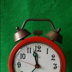 Despertadores antiguos: RELOJ DESPERTADOR BLESSING FUNCIONANDO. Lote 112565495