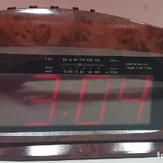 Despertadores antiguos: RADIO DESPERTADOR DE MESILLA. Lote 112913915