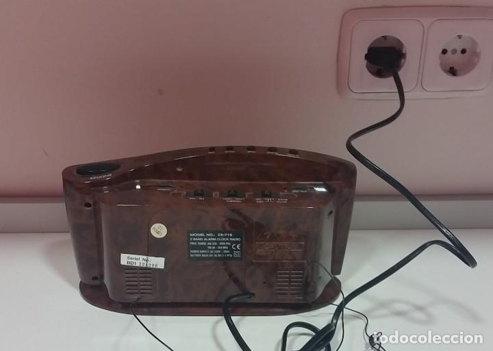 Despertadores antiguos: RADIO DESPERTADOR DE MESILLA - Foto 4 - 112913915