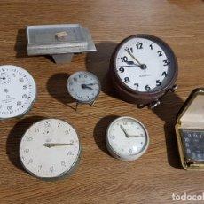 Despertadores antiguos: LOTE DE DESPERTADORES. Lote 113113643