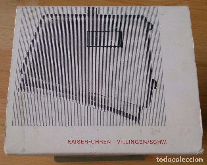 Despertadores antiguos: Antiguo Reloj Kaiser Repetitor con caja original años 60 - Foto 3 - 113568459
