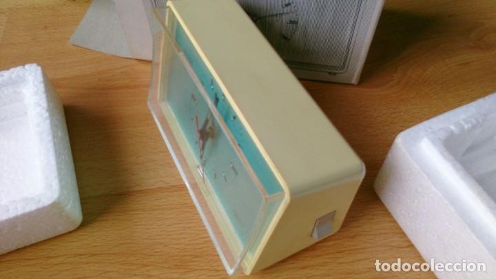 Despertadores antiguos: Antiguo Reloj Kaiser Repetitor con caja original años 60 - Foto 9 - 113568459