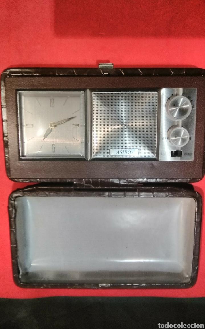 RADIO RELOJ DESPERTADOR A CUERDA ASIBO (Relojes - Relojes Despertadores)