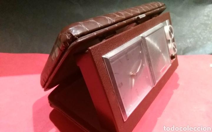 Despertadores antiguos: Radio reloj despertador a cuerda Asibo - Foto 6 - 114117780