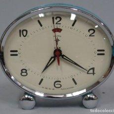 Despertadores antiguos: RELOJ POLARIS DESPERTADOR. FUNCIONANDO. Lote 115252683