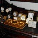 Despertadores antiguos: LOTE DESPERTADORES HOUR LAVIGNE SWIZA JAEGER LE COULTRE ORIS........... Lote 116940039