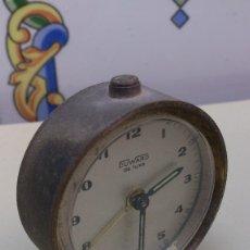 Despertadores antiguos: RELOJ DESPERTADOR DUWARD DE LUXE. Lote 118350931