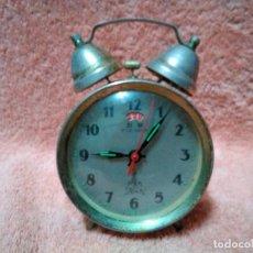 Despertadores antiguos: ANTIGUO RELOJ DESPERTADOR PARA REPARAR O DECORACION. Lote 118836919