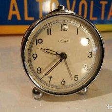 Despertadores antiguos: RELOJ DESPERTADOR KIENZLE - FUNCIONANDO. Lote 119066987