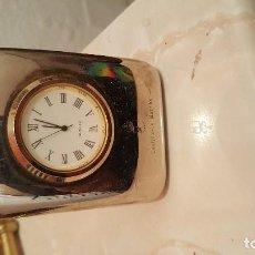 Despertadores antiguos: RELOJ DE METAL. Lote 119617715