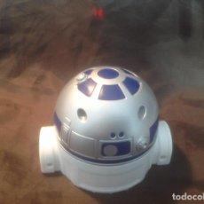 Despertadores antiguos: RELOJ DESPERTADOR R2-D2 STAR WARS THE FORCE AWAKENS COLACAO FUNCIONANDO. Lote 120958803