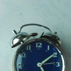 Despertadores antiguos: RELOJ DESPERTADOR MICRO 2 JEWELS. Lote 120986447
