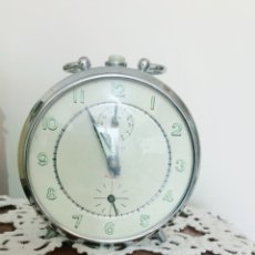 Despertadores antiguos: RELOJ DESPERTADOR VINTAGE TITÁN, RUBÍ.. Lote 121056902