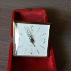 Despertadores antiguos: DESPERTADOR VIAJE.. Lote 121460947