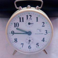 Despertadores antiguos: DESPERTADOR MECANICO MARCA REGULADORA NOS (NEW OLD STOCK). Lote 182864055