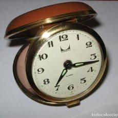 Despertadores antiguos: DESPERTADOR MODERN DE VIAJE AÑOS 70. Lote 122948683