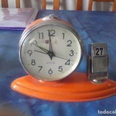 Despertadores antiguos: ANTIGUO RELOJ DESPERTADOR DE SOBREMESA. Lote 122982071