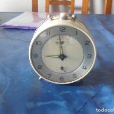 Despertadores antiguos: ANTIGUO RELOJ DESPERTADOR DE SOBREMESA. Lote 122982227