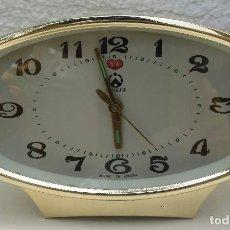 Despertadores antiguos: RELOJ DESPERTADOR VINTAGE. Lote 123287823