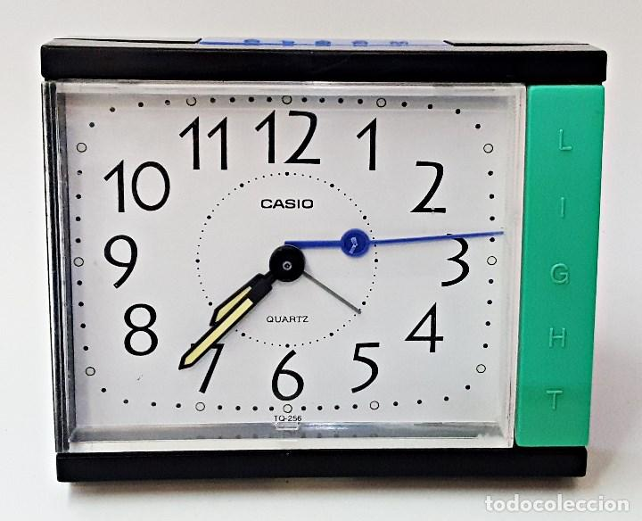 RELOJ DESPERTADOR MARCA CASIO TQ-266 (Relojes - Relojes Despertadores)