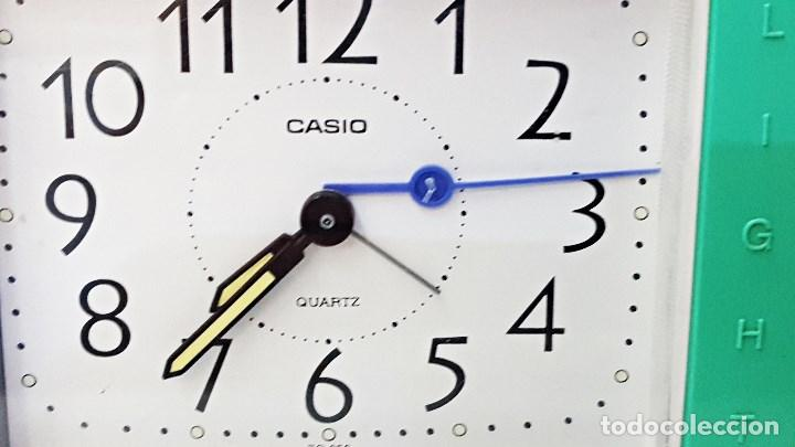 Despertadores antiguos: Reloj despertador marca CASIO TQ-266 - Foto 2 - 125092299