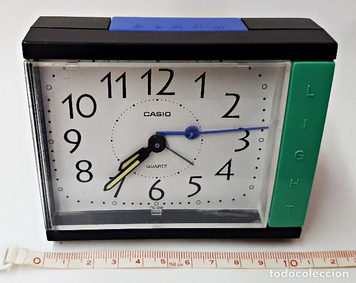 Despertadores antiguos: Reloj despertador marca CASIO TQ-266 - Foto 3 - 125092299