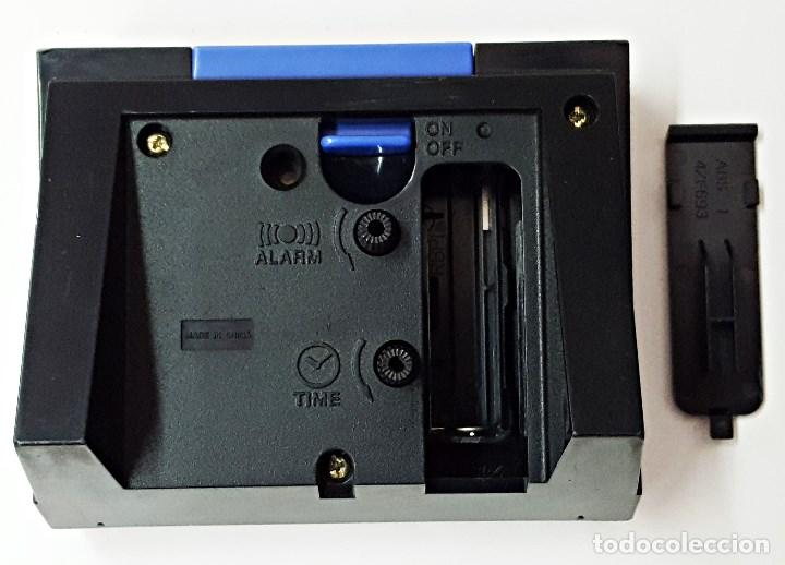 Despertadores antiguos: Reloj despertador marca CASIO TQ-266 - Foto 5 - 125092299