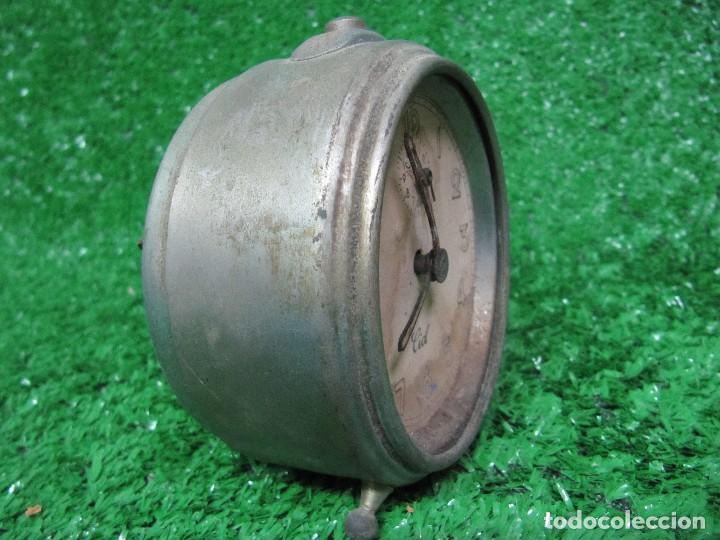 Despertadores antiguos: ANTIGUO RELOJ DESPERTADOR MARCA CID - Foto 4 - 125159703