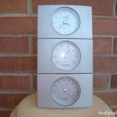 Despertadores antiguos: RELOJ+TEMPERATURA+HUMEDAD.DESMONTABLE.. Lote 125277215