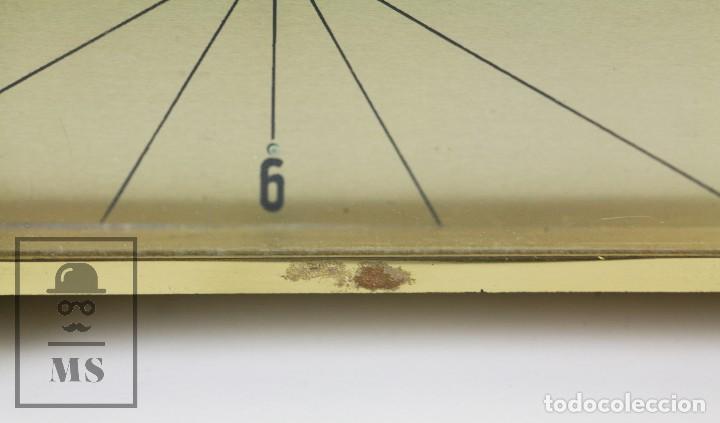 Despertadores antiguos: Reloj Despertador Vintage de Sobremesa - Obayardo - Dorado - Medidas 11,5 x 4,5 x 8,5 cm - Foto 5 - 132620887
