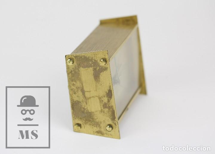 Despertadores antiguos: Reloj Despertador Vintage de Sobremesa - Obayardo - Dorado - Medidas 11,5 x 4,5 x 8,5 cm - Foto 6 - 132620887