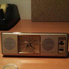 Despertadores antiguos: DESPERTADOR DE VIAJE CITIZEN MELODY ALARM 6 MELODIAS AÑOS 70.. Lote 128470158
