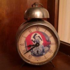 Despertadores antiguos: RELOJ DESPERTADOR JUNGHANS HITLER. Lote 129557595