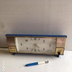 Despertadores antiguos: ANTIGUO RELOJ DESPERTADOR MADE IN JAPAN. MUSICAL CLOCK. Lote 130660018