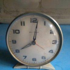Despertadores antiguos: RELOJ ANTIGUO DESPERTADOR WESTCLOX SCOTLSND,POLL ALARM. Lote 132320898