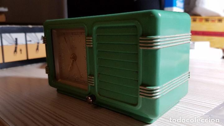 Despertadores antiguos: Antiguo reloj despertador suizo JEX Depose - Foto 4 - 132424326