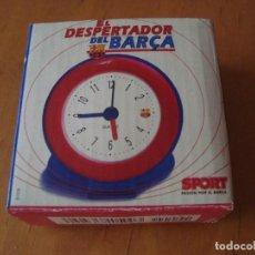 Despertadores antiguos: EL DESPERTADOR DEL BARCA. Lote 136519294