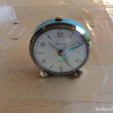 Despertadores antiguos: RELOJ DESPERTADOR ALEMÁN MARCA BLESSING. Lote 137546326
