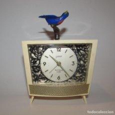 Despertadores antiguos: ANTIGUO RELOJ GOLDBÜHL BIRD SONG - GERMANY . Lote 137712614