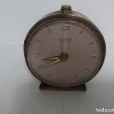 Despertadores antiguos: RELOJ DESPERTADOR DUWARD FUNCIONA. Lote 138303186