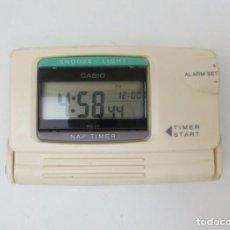 Despertadores antiguos: RELOJ DESPERTADOR DIGITAL DE VIAJE - CASIO . Lote 139195322