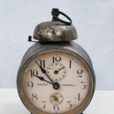 Despertadores antiguos: DESPERTADOR ANTIGUO. Lote 139250810