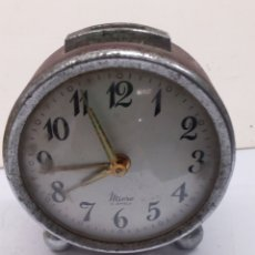 Réveils anciens: RELOJ DESPERTADOR MICRO 2JEWERS CARGA MANUAL PARA PIEZAS. Lote 139396540
