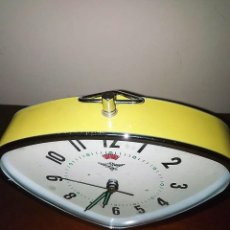 Despertadores antiguos: RELOJ DESPERTADOR DE DISEÑO . Lote 139490842