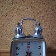 Despertadores antiguos: ANTIGUO RELOJ DESPERTADOR POLARIS. Lote 139714542